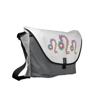 NOVINO Leo Star Family - Fine Tatoo Art Courier Bag