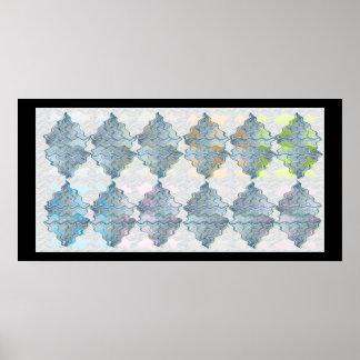 NOVINO Light Crystal Spark Patterns 6 Print
