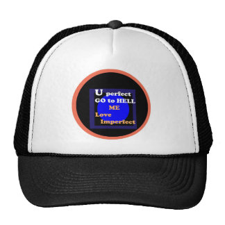 NOVINO : Me love imperfect Trucker Hat