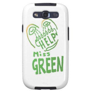 NOVINO Miss Green needs help Samsung Galaxy SIII Cover