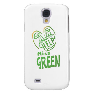 NOVINO Miss Green needs help Samsung Galaxy S4 Case
