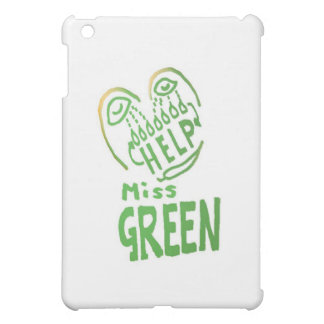 NOVINO Miss Green needs help iPad Mini Cases