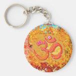 NOVINO Om Mantra - Dedication by Naveen Joshi Basic Round Button Keychain