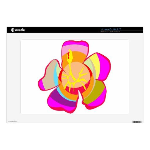 NOVINO One CUTE Flower : Graphics Laptop Skins