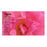 NOVINO - Pétalo rosado sensual 3 Plantilla De Tarjeta De Negocio
