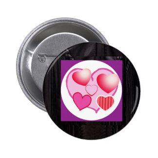 NOVINO Pure Heart Celebration Button