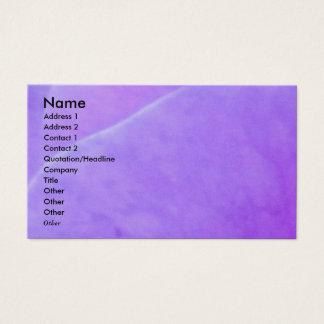 NOVINO - Purple Flower Leaf Business Card