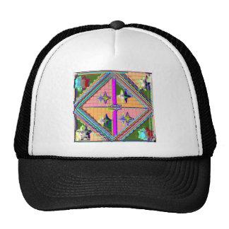 NOVINO Purple Star -  Healing Art Series Hat
