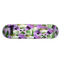 NOVINO Purple Wheels Skateboard Deck