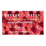 NOVINO Red Roses Business Card Template
