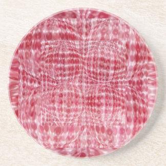 NOVINO Red Rubies Treasure Sandstone Coaster