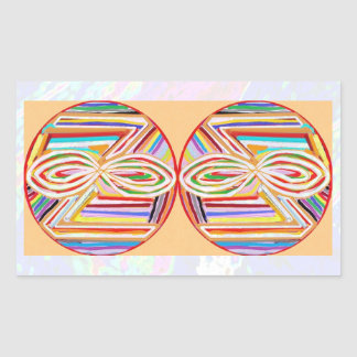 NOVINO ReikiHealing n KARUNA Reiki Symbols Rectangular Sticker