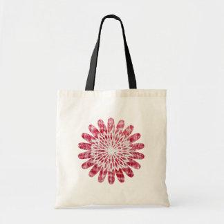 NOVINO SunFlower Energy Wheel Budget Tote Bag