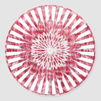 NOVINO SunFlower Energy Wheel Classic Round Sticker