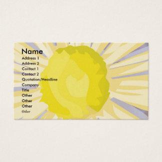NOVINO - Sunflower Heart Business Card