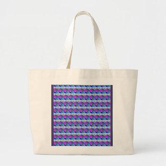 NOVINO Texture Pattern Meet Greet Gifts Jumbo Tote Bag