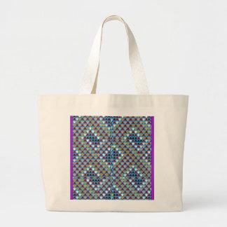 NOVINO Texture Pattern Meet Greet Gifts  doonagiri Jumbo Tote Bag