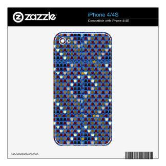 NOVINO Texture Pattern Meet Greet Gifts  doonagiri Decal For The iPhone 4S