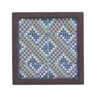 NOVINO Texture Pattern Meet Greet Gifts  doonagiri Keepsake Box