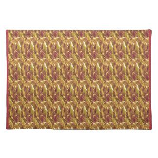 NOVINO Texture Pattern Meet Greet Gifts  doonagiri Cloth Place Mat
