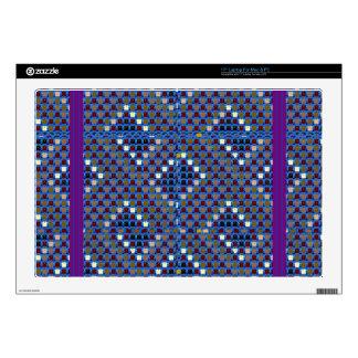 """NOVINO Texture Pattern Meet Greet Gifts  doonagiri Skin For 17"""" Laptop"""