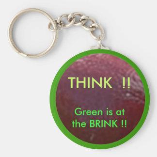 NOVINO  .. Think GREEN ThinkGREEN Keychain