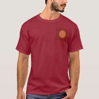 NOVINO Variety Collection Squares Rounds NumberOne T-Shirt