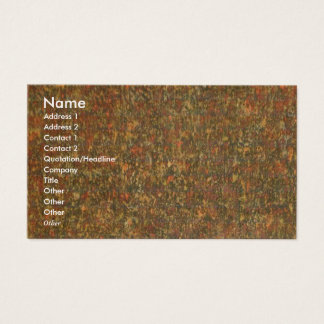 NOVINO - Vintage Dry Jungle Wild Business Card