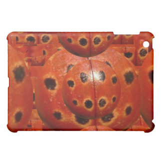 NOVINO Vintage Handmade Ladybug Texture iPad Mini Cover