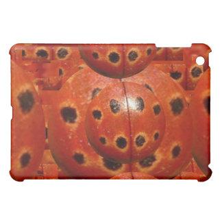 NOVINO Vintage Handmade Ladybug Texture iPad Mini Covers