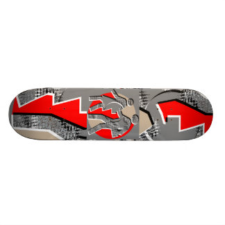 NOVINO Wild Discoveries Custom Skate Board