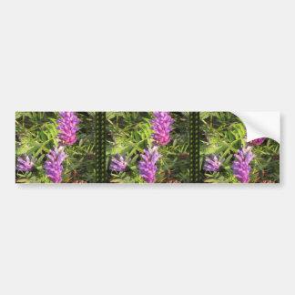 NOVINO Wild n Garden variety Flower Collection Bumper Sticker