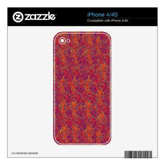 NOVINO Zazzling Glittering Sparkle Patterns Decals For iPhone 4