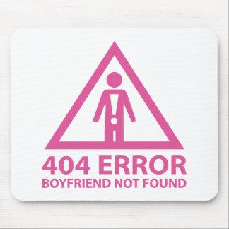 Novio de 404 errores no encontrado mousepad