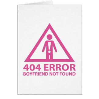 Novio de 404 errores no encontrado