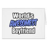 Novio de Awesomest del mundo Felicitaciones