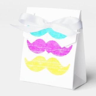 Novio de los bigotes de CMY (estilo de la prensa Cajas Para Regalos De Boda