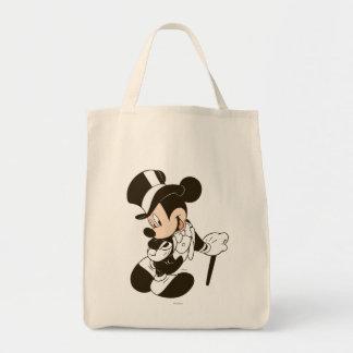 Novio de Mickey Mouse Bolsa Tela Para La Compra
