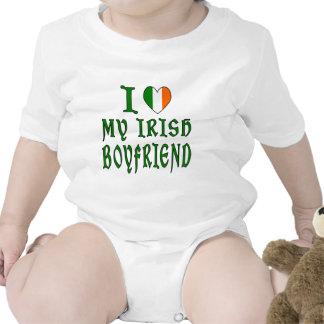 Novio del irlandés del amor traje de bebé