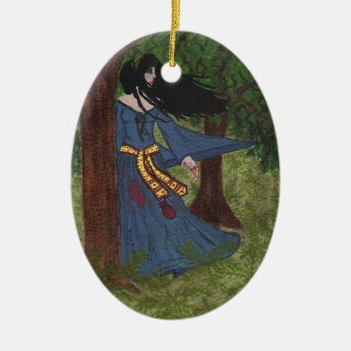 Novio del ladrón ornaments para arbol de navidad
