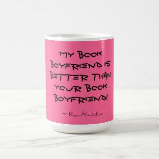 Novio del libro taza