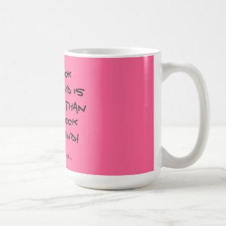 Novio del libro tazas de café