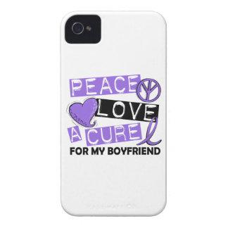 Novio del linfoma de la curación H del amor de la Case-Mate iPhone 4 Carcasa