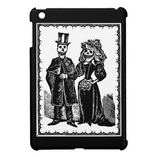 Novio esquelético - mini caso de iPad/iPad (person