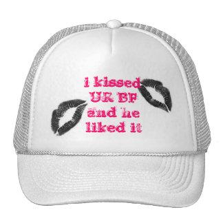 novio gorras de camionero