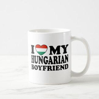 Novio húngaro tazas de café