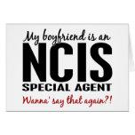 Novio un agente 1 de NCIS Felicitaciones