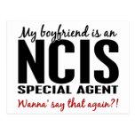 Novio un agente 1 de NCIS Tarjetas Postales