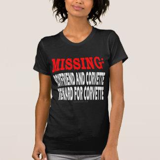 Novio y Corvette que falta: Recompensa por Corvett Camiseta