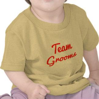 Novios del equipo camisetas